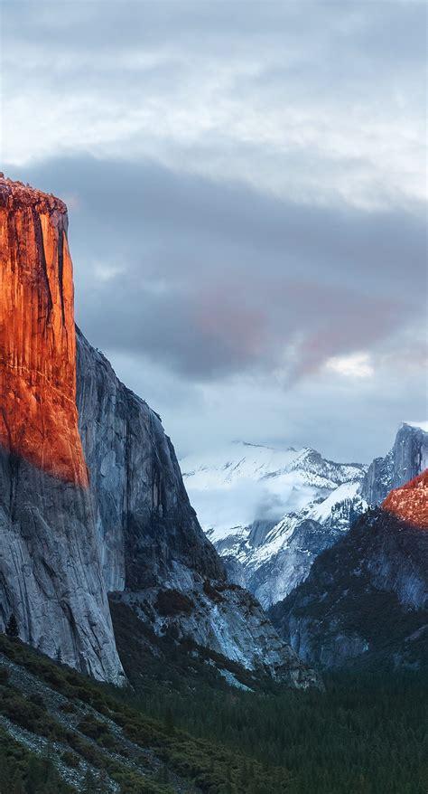 landscape mountain el capitan wallpapersc iphonesplus