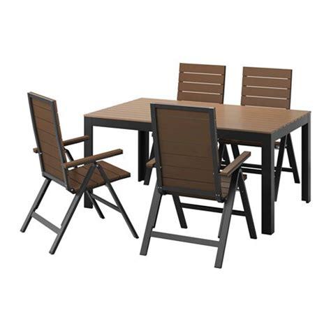 Ikea Falster Tisch by Falster Tisch 4 Hochlehner Au 223 En Schwarz Braun Ikea