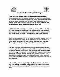 Essays About English Language Heart Of Darkness Discussion Questions Part  Persuasive Speech Example  Essay Science Essays also Thesis Statement For Argumentative Essay Heart Of Darkness Essays Essay About A Student Free Heart Of  Example English Essay