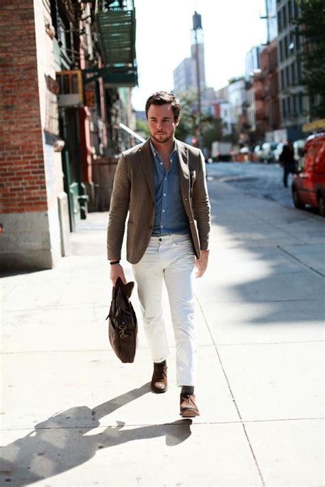 How to Wear White Jean for Men | MiKADO