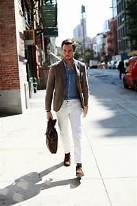 How to Wear White Jean for Men   MiKADO