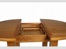 Canterbury Oak Round Extending Dining Table W110150 x