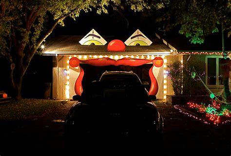 las mejores puerta de garaje  halloween rolloid