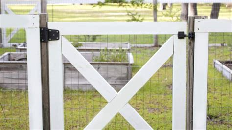 build  diy garden fence angies list