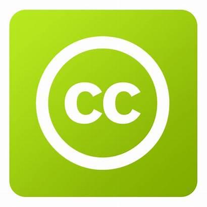 Creative Commons Icon Social Flat Digital Icons