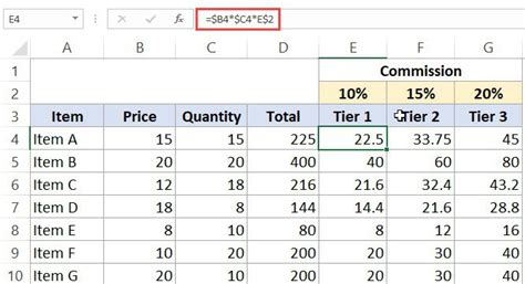 absolute relative  mixed cell references  excel