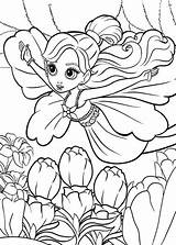 Coloring Thumbelina Pages Barbie Flying Fairy Colouring Tocolor Princess Getcolorings Printable Cicely Barker Mary sketch template