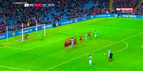 Kevin De Bruyne Scored A Fantastic Free-Kick Tonight ...