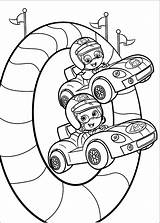 Bubble Guppies Coloring Pages Printable Birthday sketch template