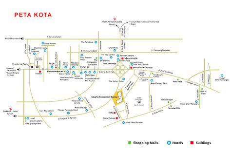 map jakarta cirebon