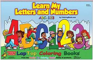 coloring book publishers abc 123 learn my letters and With letters and numbers book