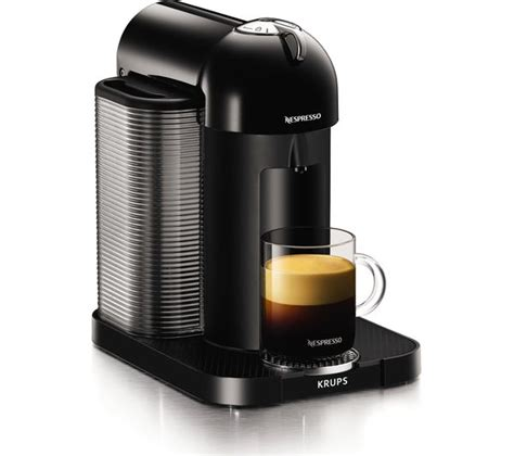 machine nespresso vertuo buy nespresso by krups vertuo xn901840 coffee machine black free delivery currys