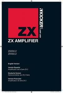 Download Free Pdf For Kicker Zx200 2 Car Amplifier Manual