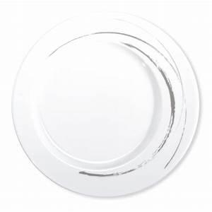 Assiette Plate Originale : assiette moderne en porcelaine blanche vaisselle design et tendance ~ Teatrodelosmanantiales.com Idées de Décoration