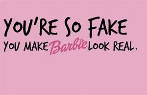 Quotes About Fa... Fake Girl Quotes