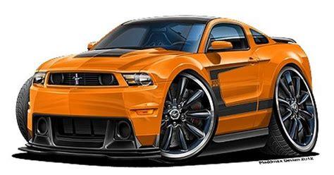 details   ford mustang boss  muscle car art