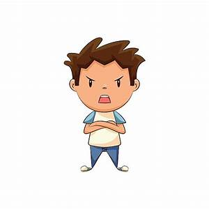 Fight clipart angry child - Pencil and in color fight ...