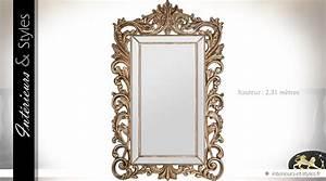 Grand Miroir Baroque : grand miroir baroque parcloses encadrement ajour 231 cm int rieurs styles ~ Teatrodelosmanantiales.com Idées de Décoration