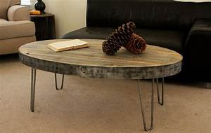 oval industrial reclaimed wood table modern coffee With oval reclaimed wood coffee table