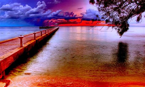 sunset beautiful horizon wallpaper  wallpaperscom
