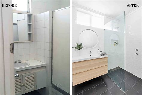 bathroom makeover renovated  disaster