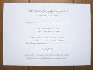 wedding rsvp wording rsvp with meals and dietary needs we need to add an rsvp for transportation as well wedding