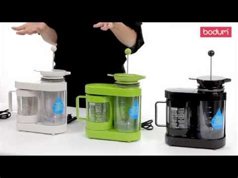 BODUM BISTRO electric coffee dripper 11462   YouTube