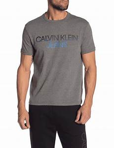 T Shirt Pour Homme : t shirt calvin klein pour hommes gris ~ Farleysfitness.com Idées de Décoration
