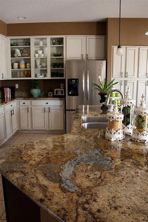choosing granite countertop colors  cherry wood