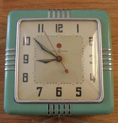 green kitchen clocks vintage jadiete green kitchen clock s kitchen 1397