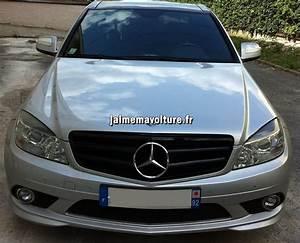 Mercedes Classe C Noir : calandre de mercedes classe c couleur noire w204 ~ Dallasstarsshop.com Idées de Décoration