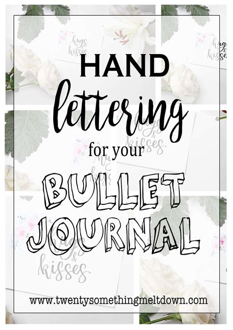 lettering for your bullet journal twenty something lettering for your bullet journal twenty 91760