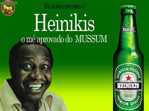 AVE CESAR CO.: Mussum e a cerveja