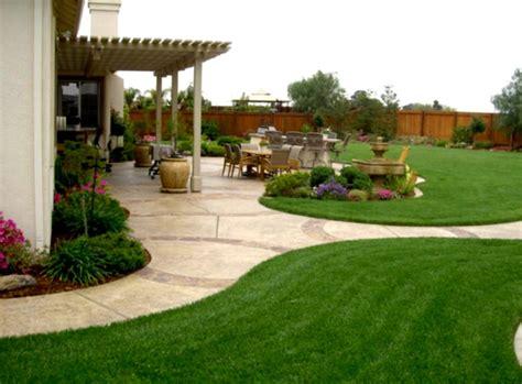 Simple Backyard Ideas Landscaping Cheap Pinterest Homelkcom
