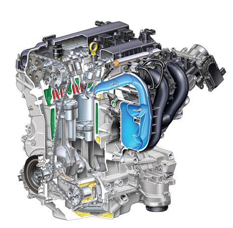 2 3 Liter Ford Engine Problems by 2007 Ford Fusion 2 3l 4 Cylinder Duratec Engine Picture