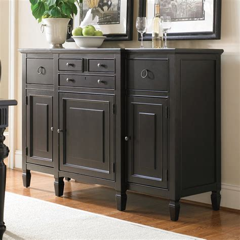 Sideboard Desk by Summer Hill Serving Buffet Sideboard Midnight Sideboards