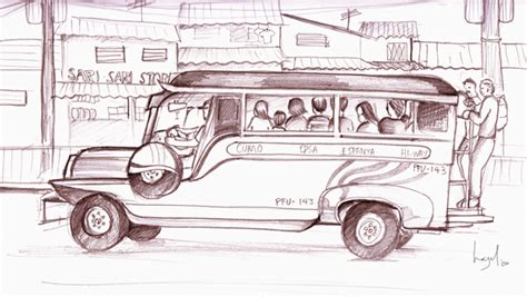 jeep philippines drawing jeepney by hazelnut nyc on deviantart