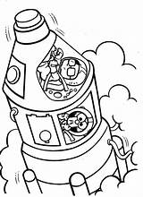 Coloring Pages Muppet Travel Babies Spaceship Space Alien Place Ship Printable Getcolorings sketch template