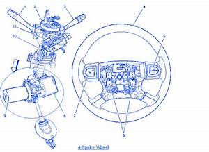 Chevy Cobalt 2 2 4 2006 Spoke Wheel Electrical Circuit
