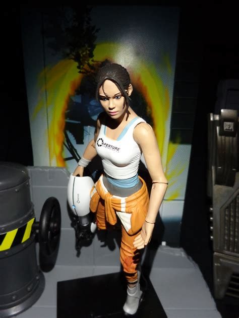 Life In Plastic Toy Review Chell Portal 2 Nerditis