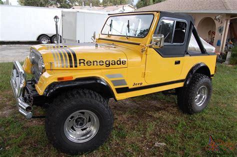 renegade jeep cj7 jeep cj7 renegade edition