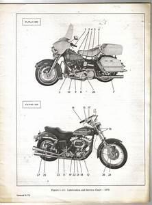 Vintage Harley Davidson Fl   Flh 1200 And Fx    Fxe 1200