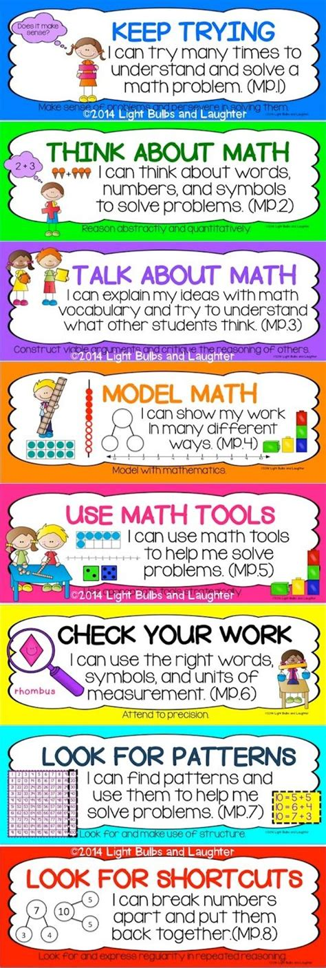 Common Core 5th Grade Math Posters Worksheets For All  Download And Share Worksheets  Free On