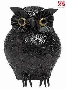 Halloween Deko Günstig Kaufen : glitzer eule halloween deko schwarz 10 5x4 5x4 5cm eule deko ~ Michelbontemps.com Haus und Dekorationen