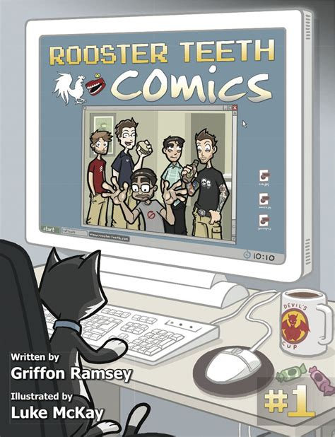 rooster teeth comics the rooster teeth wiki fandom powered by wikia