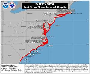 Hurricane Isaias Landfall Hours Away  Warnings Extended