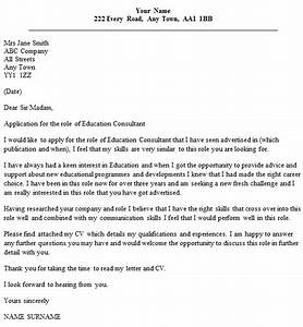cover letter for learning support assistant - education consultant cover letter example