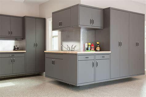 Kitchen Metal Backsplash Ideas - garage cabinetry archives garage living blog