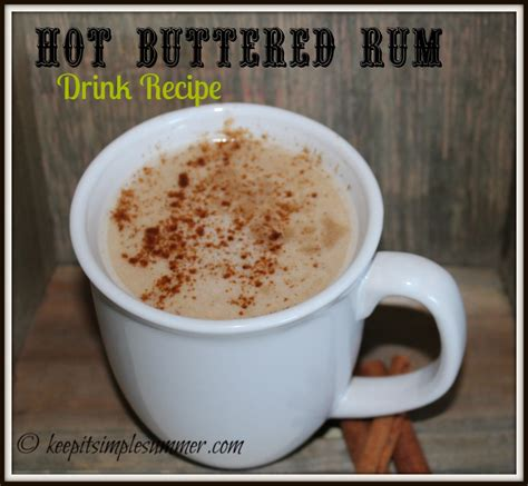 buttered rum recipe hot buttered rum recipe dishmaps