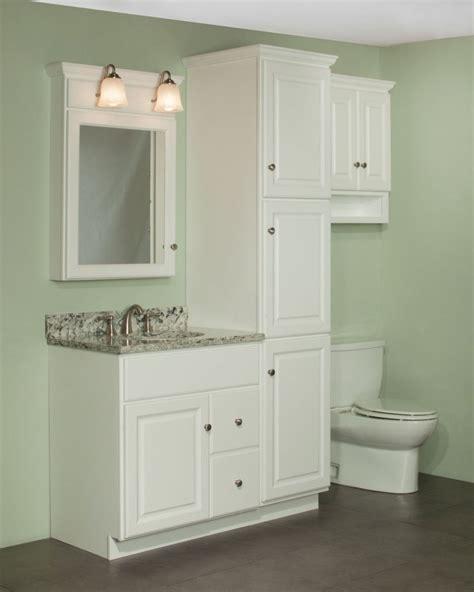bathroom vanity with linen closet bathroom cabinets ideas